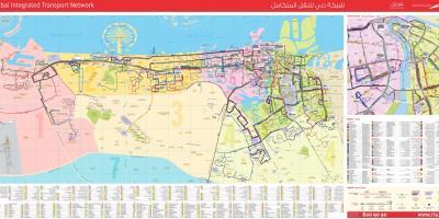 Cartina Turistica Dubai.Dubai Mappa Mappe Di Dubai Emirati Arabi Uniti