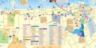Dubai Cartina Turistica.Dubai Mappa Mappe Di Dubai Emirati Arabi Uniti